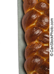 Challah bread - Freshly baked homemade challah bread on...