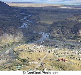 chalten, patagonia., panorama
