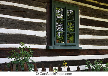 chalupa, timbered