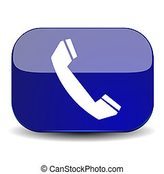 chamada, ícone