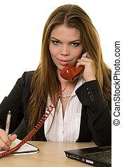 chamando, telefone