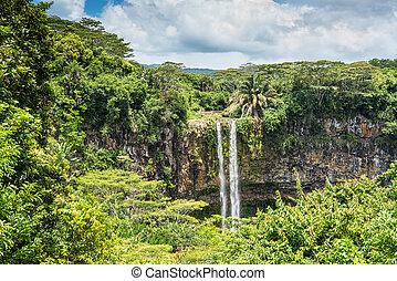 Chamarel Waterfall Mauritius Island