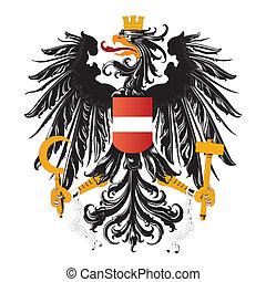 chamarra, austria, brazos, aislado