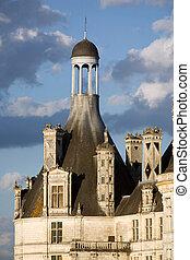 Chambord castle detail