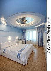 chambre à coucher, hôtel