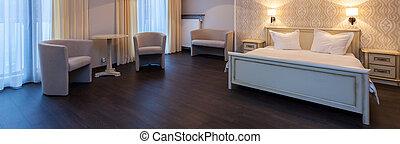 chambre hôtel, confortable