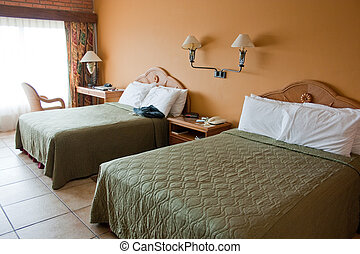 chambre hôtel, luxueux