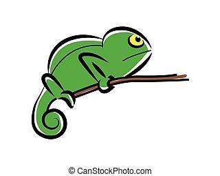 chameleon character