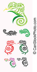 Chameleon ornate