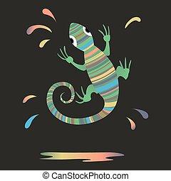 Chameleon, Splash paint