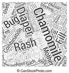 Chamomile Word Cloud Concept
