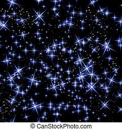 champ, étoile