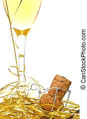 champaña, celebrar