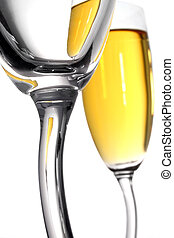champagne, abstract