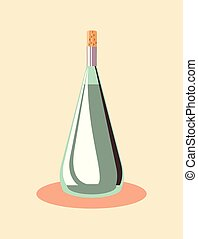 champagne bottle design