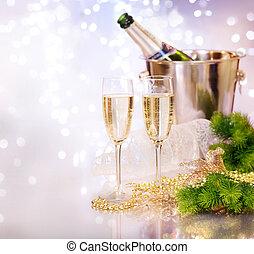 champagne., célébration