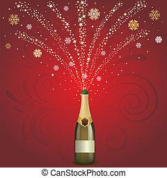 champagne celebrate background