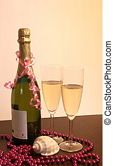 Champagne  decoration