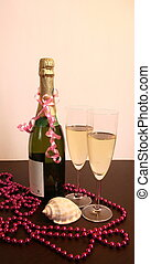 Champagne deep water decoration se