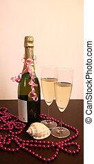 Champagne deep water decoration se