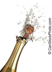 champagne, esplosione