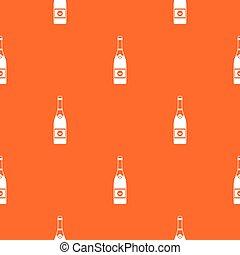 Champagne pattern seamless
