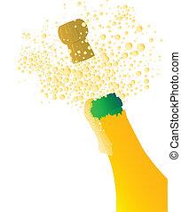 champagne, sauter