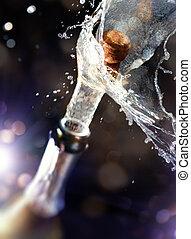 champagne, sughero