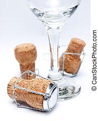 Champagne utensils