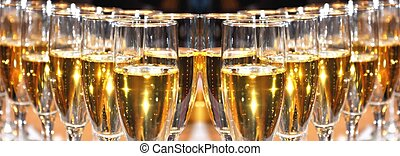 champagne, viering