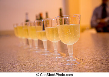 Champagne Wedding Toast