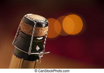 Champagne wine bottle cap