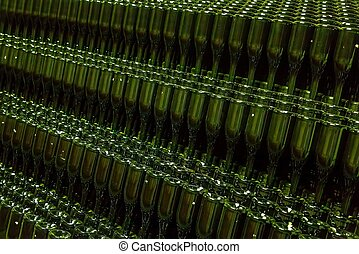 champagner, Flasche