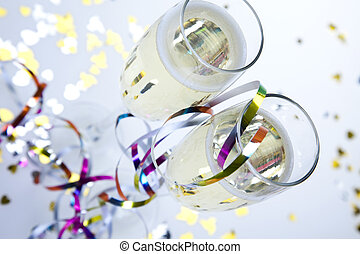 champagner, party