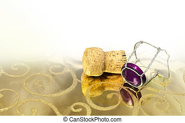 Champange bottle cork