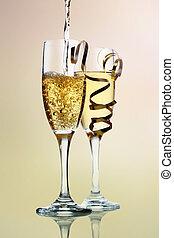 champange, firande