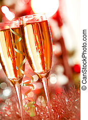 champanhe, cintilante