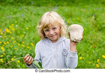 champignon, girl
