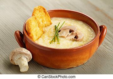 champignon mushroom soup