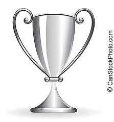Champion cup - goblet silver - Champion cup for football,...
