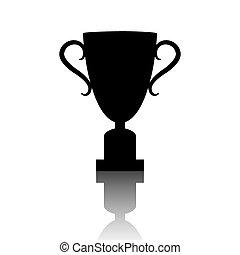 Champions Cup icon. Vector illustration