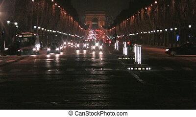 Champs Elys?e by night, Paris
