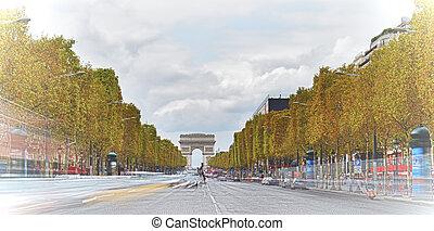 Champs-Elysees, Paris.