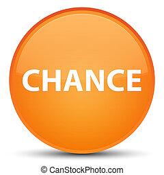 Chance special orange round button
