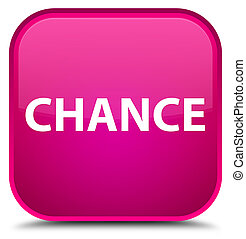 Chance special pink square button