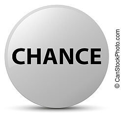Chance white round button