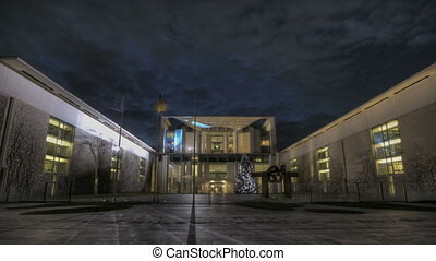 Chancellery - Timelapse View of the german chancellery