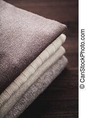 chandail, laine, hiver