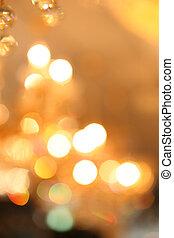 chandelier background - elegant crystal chandelier blur...