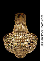Chandelier - Big and old style expensive crystal chandelier